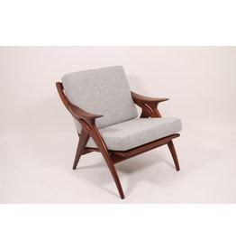 "Vintage design armchair ""the knot'' De ster gelderland."