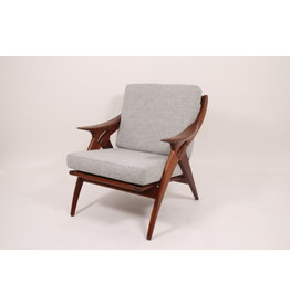 Vintage design armchair De ster gelderland De knot