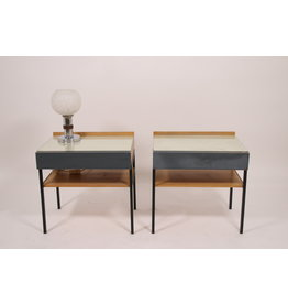 Vintage bedside tables from the 60s