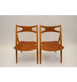 Hans Wegner Model Ch 29 stoel van Carl Hansen & Son