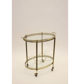 maison Jansen Paris Maison Jansen Paris Gouden Drinks trolley 1950