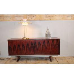 Brazilian rosewood sliding door cabinet, denmark.