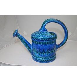 Bitossi Italy Bitossi Ceramic Blue Watering Can Italy design Rimin Blu Aldo Londi