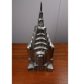 Large Aluminum Empire State Building money box