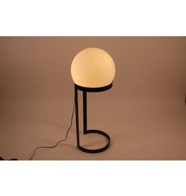 Vintage Floor lamp with black metal base.