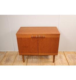 Vintage teak houten tv meubel