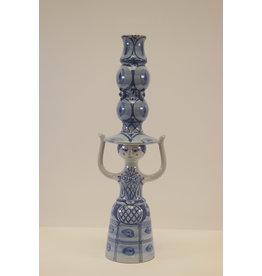 Ceramic candlestick by Bjørn Wiinblad 1976