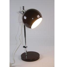 Brown Sphere Magnet Desk Lamp by Hamalux