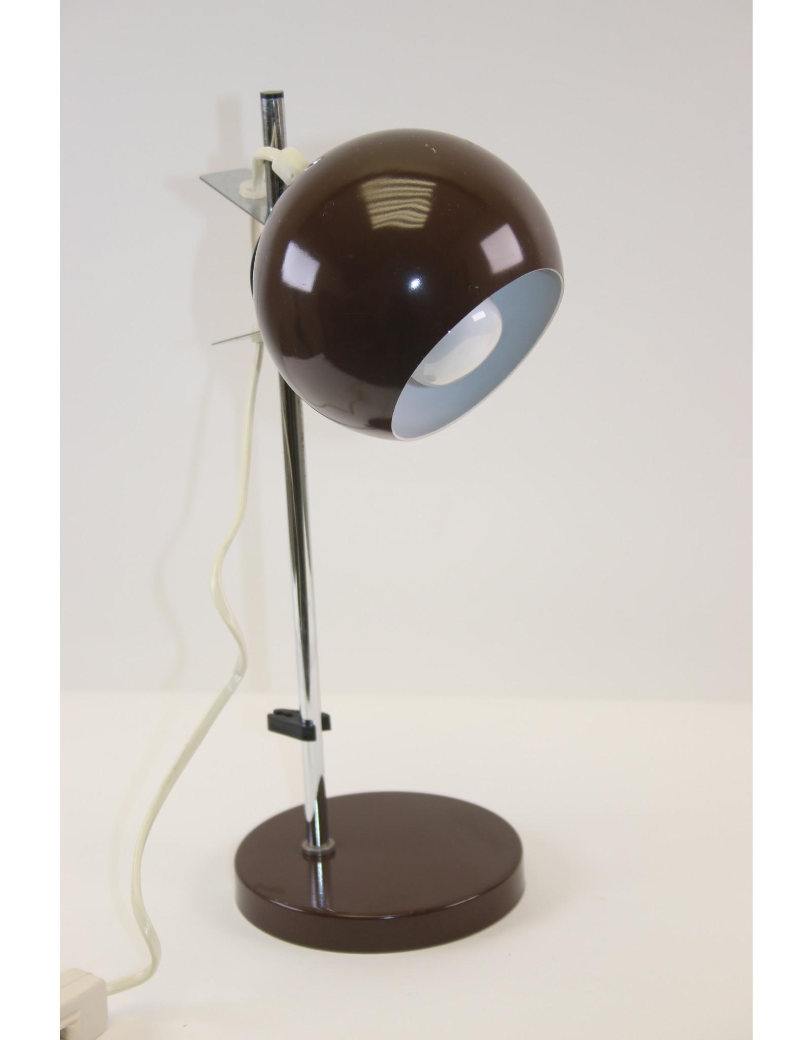 Bruine Bol Magneet Bureaulamp van Hamalux
