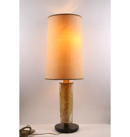 Brutalist table lamp 1960s