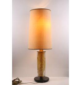 Brutalistische tafellamp jaren60S