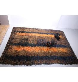 Hoogpolig tapijt van Atelier 't Paapje, 1960
