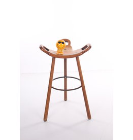 Spanish Brutalist Bar Stool Marbella for Confonorm, 1970s