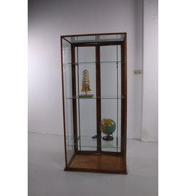 Antieke Engelse vitrine van mahoniehout 1930s