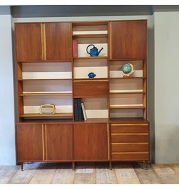 Vintage design wall unit from the 60s