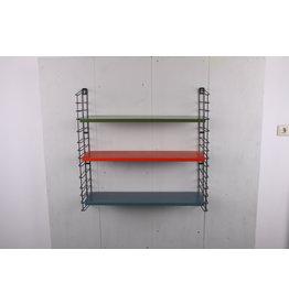 Tomado wandrek schappensysteem boekenrek  rood groen blauw