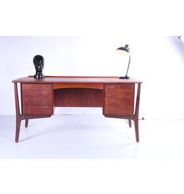 Deens Teakhouten bureau van Svend Aage Madsen voor HP Hansen, jaren 60
