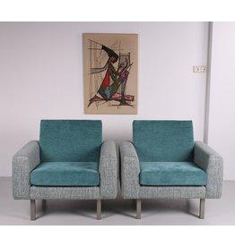 Artifort fauteuils model 410 van Theo Ruth set 50's