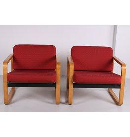Mondial Design stoelen set uit de jaren 60