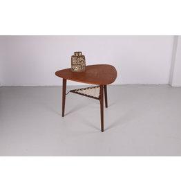 Deense moderne teakhouten salontafels door Holger Georg Jensen voor Kubus, 1960