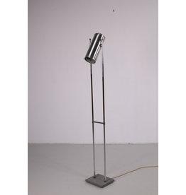 Vloerlamp Trombone van Jo Hammerborg voor Fog & Morup, Denemarken jaren 60