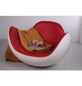 Space Age schommelstoel Placenta stoel ontwerper Diego Battista gemaakt door Brion-Ai