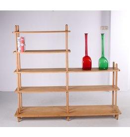 Vintage stokke cabinet mid century Dutch design cabinet W. Lutjens Den Boer Gouda