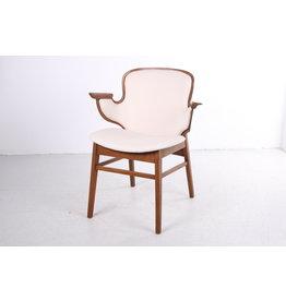 Hans Olsen Lounge stoel Model 107 voor Bramin Mobler, Denemarken, jaren 50