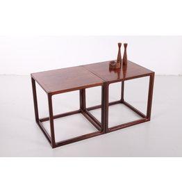 Set Cube s salontafel van Aksel Kjersgaard, Denemarken 1950s
