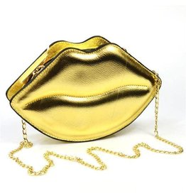 Fantasy bag Lips Gold