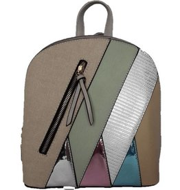 Fashion multicolor backpack 2102b