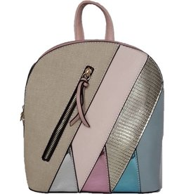 Fashion multicolor backpack 2102e