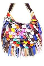 Trukado Leather bags - Leather shoulder bag festival large 2227