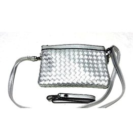 Clutch Silver Giuliano