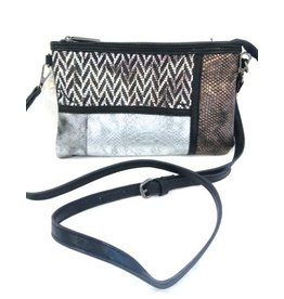 Giiuliano Clutch Giuliano Black 80082bl