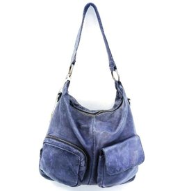 DSTRCT DSTRCT Leather Shoulder bag Blue