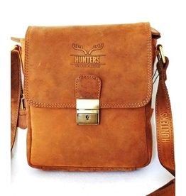 Hunters Hunters leather shoulder bag tan A22S