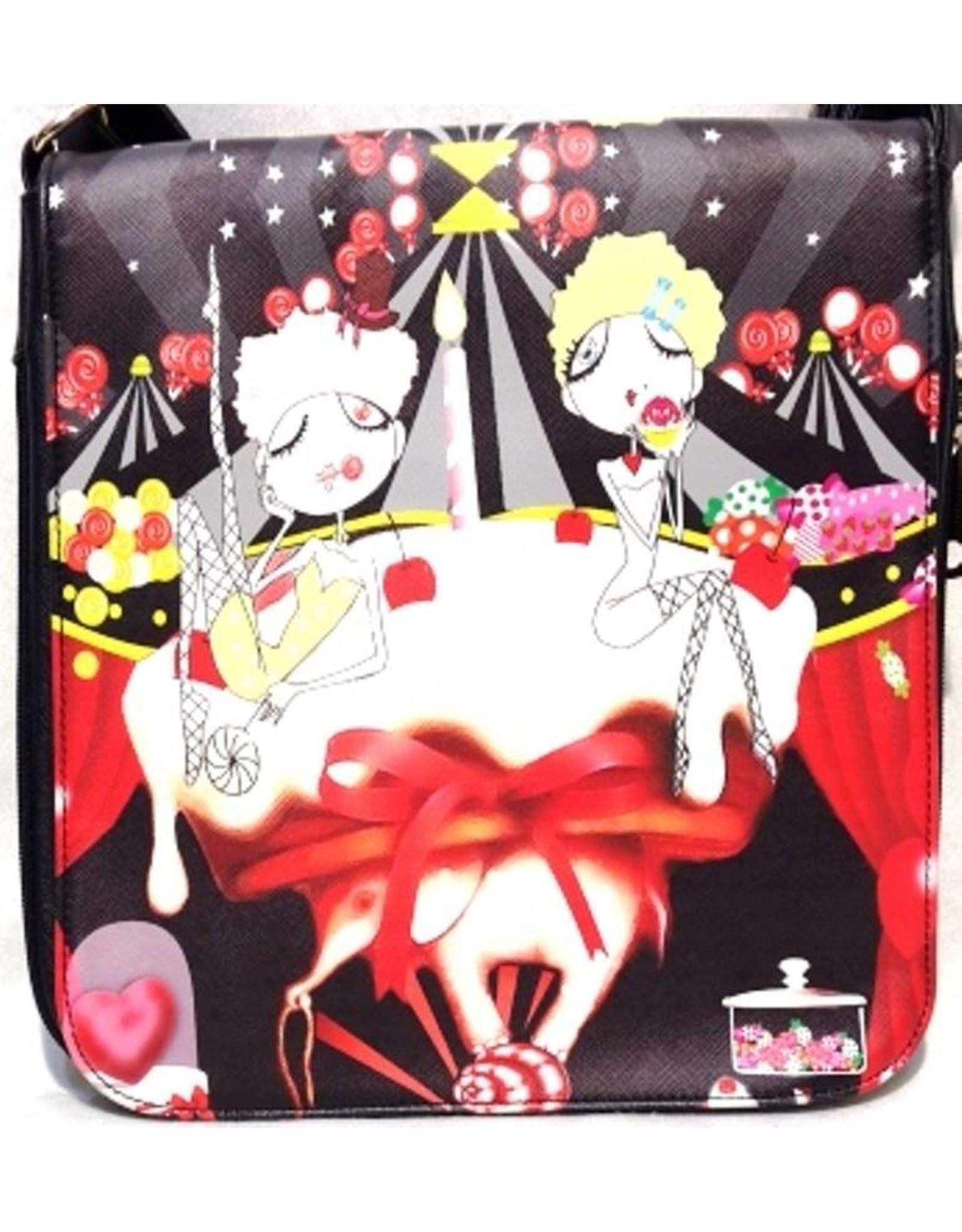 Fantasy tassen - Fantasy Tas Dames Zwart