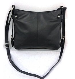 Bear Design Bear Design Leather Shoulder bag  Black B4099ZW