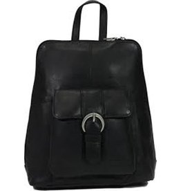 Bear Design Bear Design Leather Backpack Black B6265