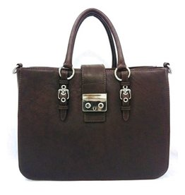 B&B B&B Leather Handbag Brown