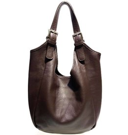 B&B Leather Shoulder bag Brown