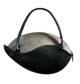 by-Lin Dutch Design by-Lin Dutch Design Heliconia Leather hand bag Grey