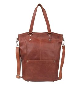 Cowboysbag Leather Bag Cowboysbag Paros Cognac