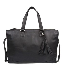 Cowboysbag Leather Bag Cowboysbag Hatfield Black