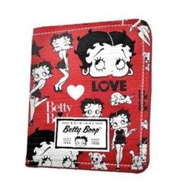 Uitverkocht - Betty Boop Portemonnee Rood