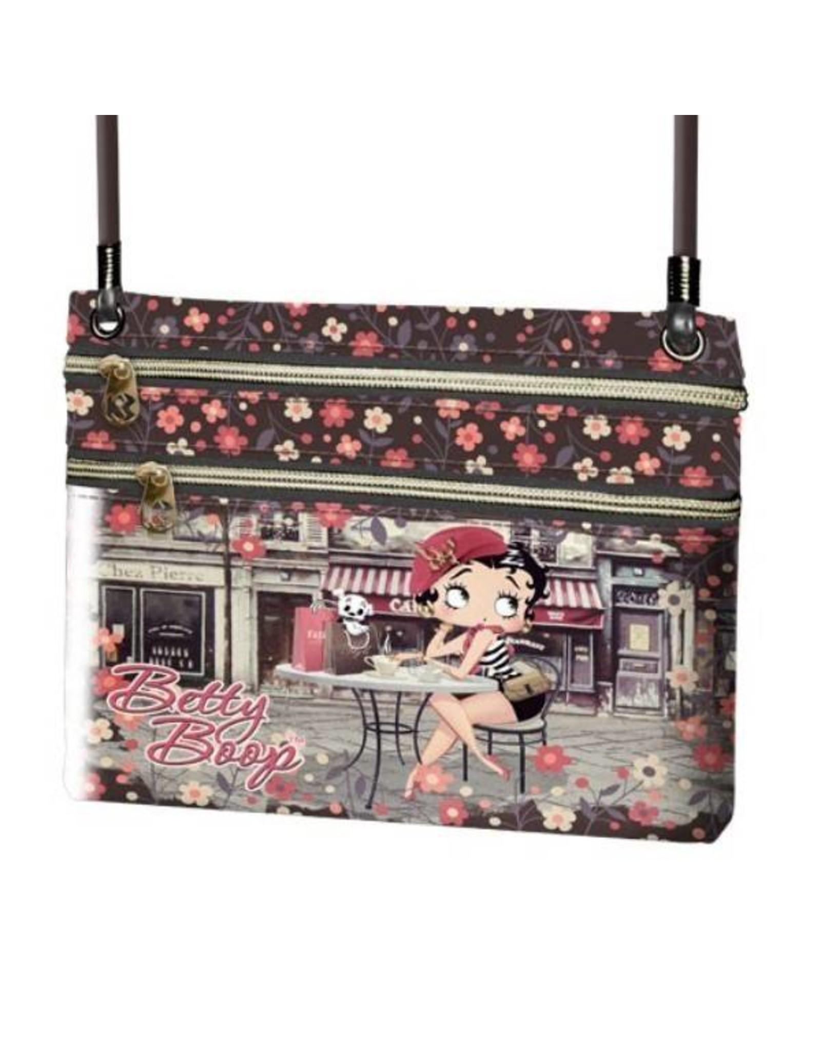 Betty Boop Betty Boop tassen - Betty Boop schoudertasje Cafe