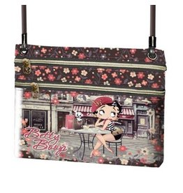 Betty Boop schoudertasje Cafe