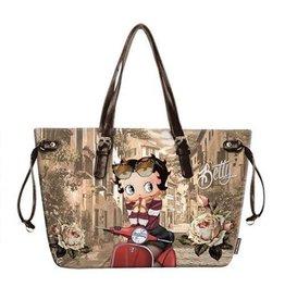 Betty Boop shoulder bag Scooter