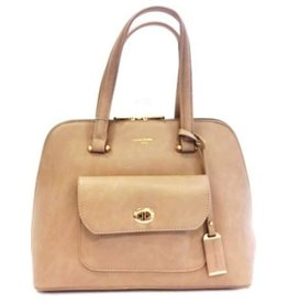 David Jones Handbag Camel